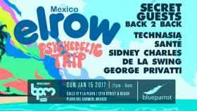 Cartel del Festival BPM de México.