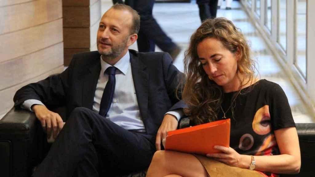 La pareja formada por Carolina Punset y Alexis Marí