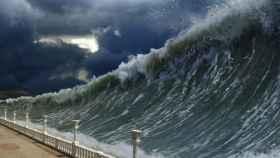 tamaño de un tsunami