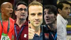 Entrenadores españoles en el Mundial de balonmano.
