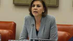 Cospedal, en la comisión de Defensa en la que dio explicaciones sobre el Yak.