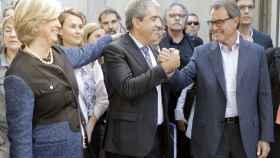 Francesc Homs, a su entrada en el Tribunal Supremo el pasado septiembre