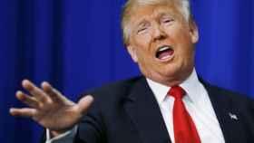 Donald Trump, presidente electo de EEUU, en una conferencia de prensa