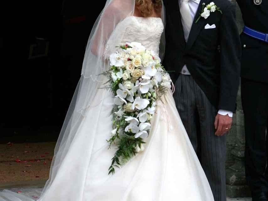 Tessy y Luis de Luxemburgo el día de su boda.