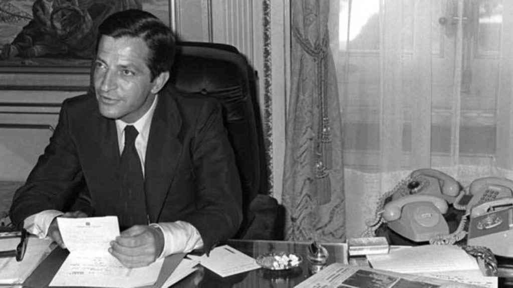 Adolfo Suárez, presidente del primer gobierno de la democracia.
