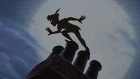 Uno de los planos de 'Peter Pan', una película de 1953.
