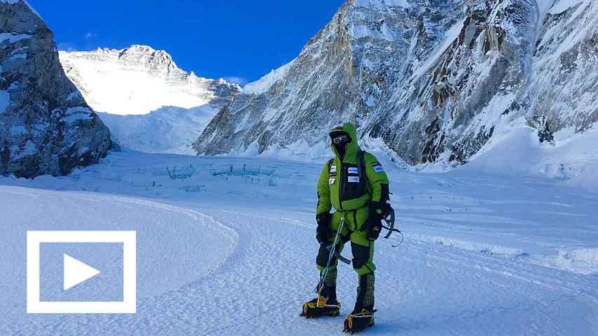 El ataque a la cima será, probablemente, en febrero. / Foto: Expedición Alex Txikon