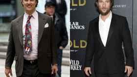 El antes y el después de Matthew McConaughey.