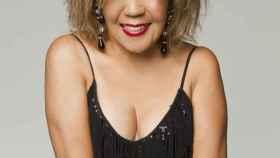 Loalwa Braz, la cantante del grupo Kaome, famosa por su canción La lambada.