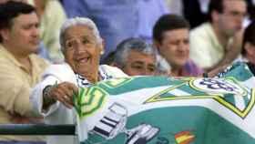 Concepción Andrade, la abuela del Betis