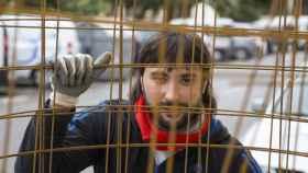Ramón Guerrero ha cambiado las rejas de prisión por las de la obra