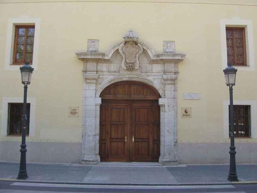 Antiguo cuartel, sede de Bellas Artes, antes perteneciente a la Complutense (actualmente de la URJC)