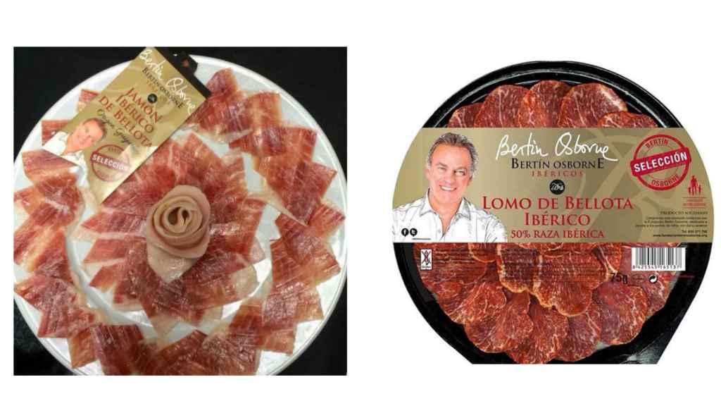 Jamón, lomo o chorizo ibérico son algunos de los productos de Bertín.