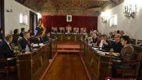 Pleno diputacion Valladolid 20 enero organos donacion