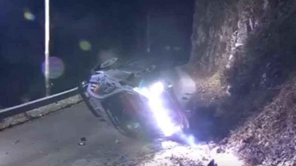 Muere un espectador español en el Rally de Montecarlo tras el accidente de Hayden Paddon