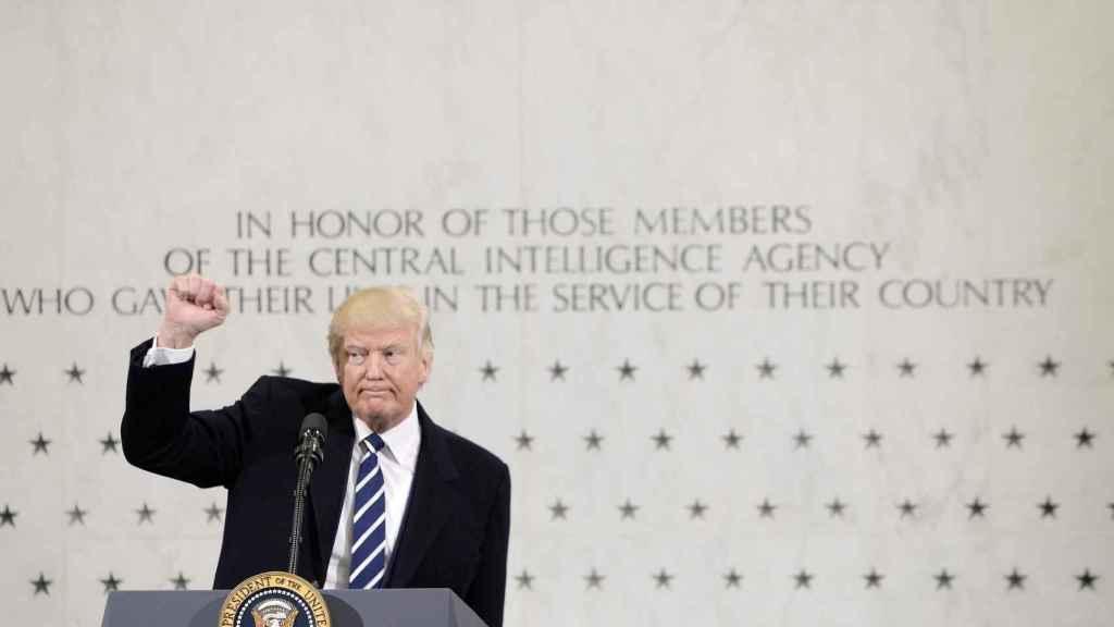 Donald Trump, a la CIA: De verdad les apoyo