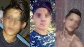 De izquierda a derecha, Ernesto, Manuel y Jorge, tres de los miembros del grupo Los Odiadores.