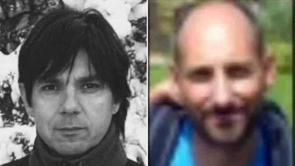 Los guardas forestales, Xavi Ribes y David Iglesias.