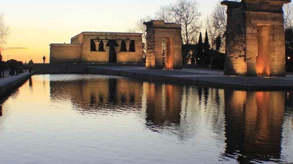 Imagen del Templo de Debod.