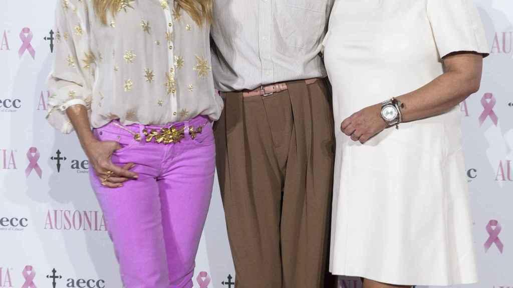 Marta Sánchez, Bimba Bosé y Terelu Campos, juntas contra el cáncer.