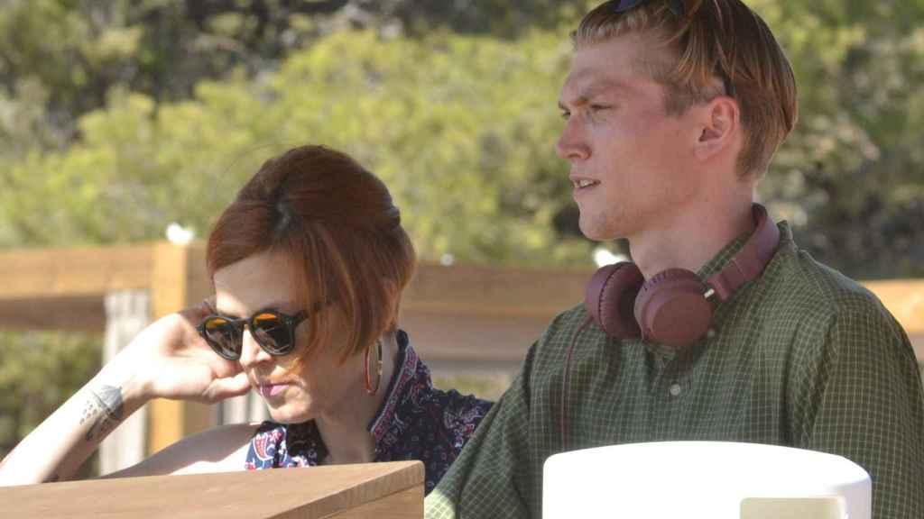 Bimba y su novio Charlie Centa ejerciendo de DJs el pasado verano.