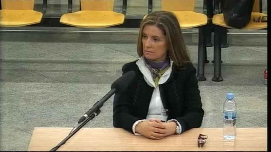 La mujer de Luis Bárcenas, Rosalía Iglesias, declara como acusada en la Audiencia Nacional.