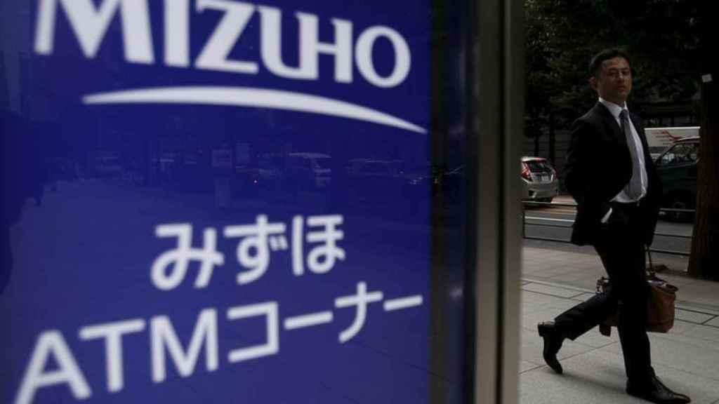 Sede de Mizuho Bank en Tokio.
