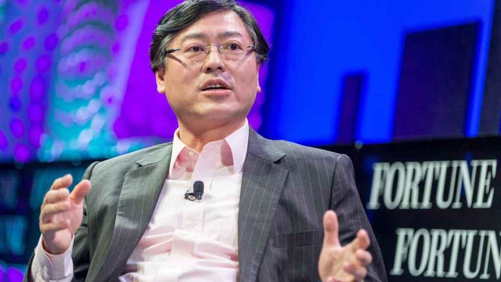 El presidente de Lenovo, Yang Yuanqing.