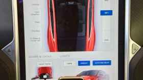 El interior del Tesla que ha probado EL ESPAÑOL