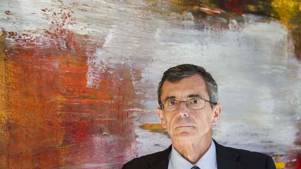 Francisco Guinea, tras la entrevista con El Español.