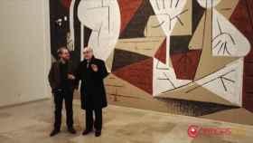 mural Luis Vassallo herreriano valladolid