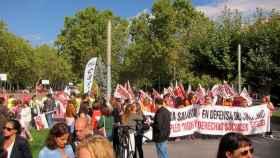 manifestacion-trabajadores-telemarketing-valladolid