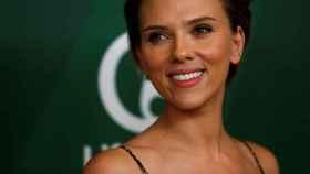 Scarlett Johansson durante un acto promocional en Beverly Hills.