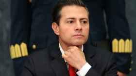 Peña Nieto durante un discurso esta semana en la residencia oficial de Los Pinos