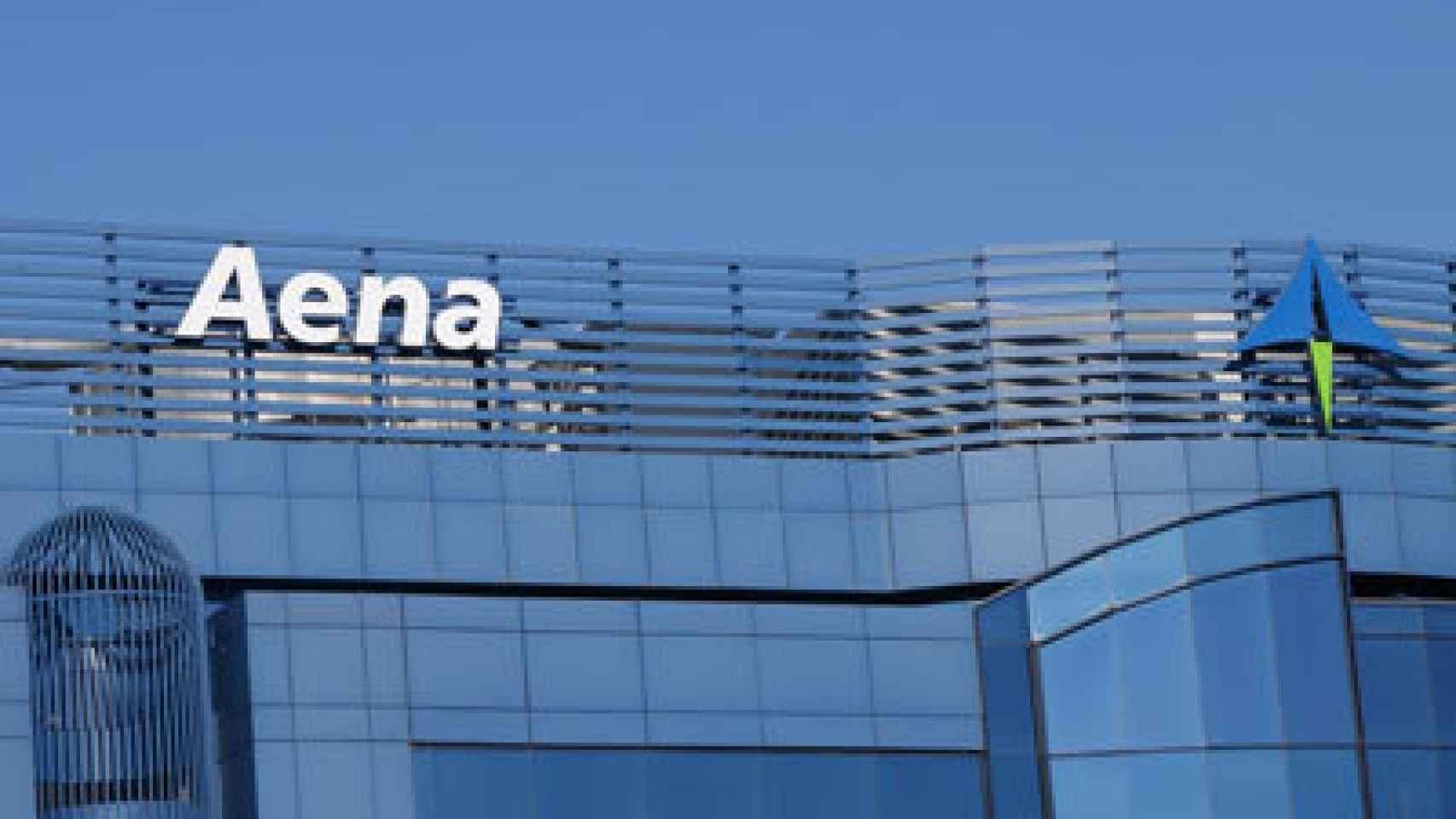 Edificio corporativo de AENA en una imagen de archivo.