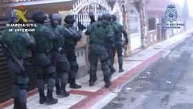 guardia civil policia detenciones ladrones camiones 1