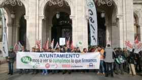 manifestacion-trabajadores-auvasa-valladolid-1