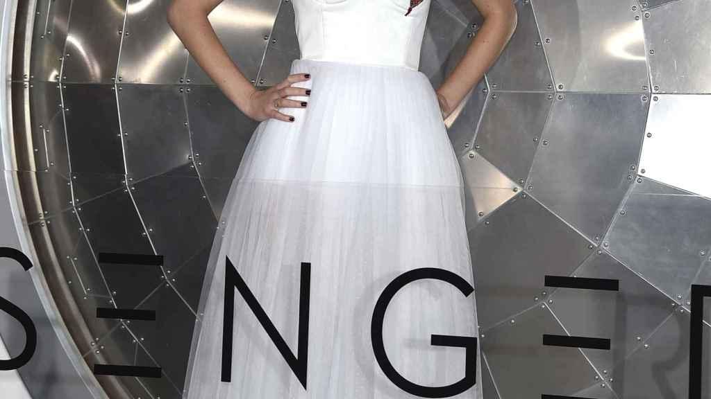 Jennifer Lawrence, en la presentación de su última película en Los Ángeles.