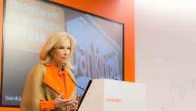 María Dolores Dancausa, consejera delegada de Bankinter, presenta los resultados de 2016.