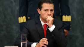 Peña Nieto, la semana pasada durante un discurso desde su residencia oficial