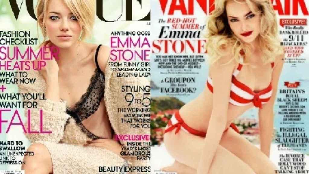 Emma Stone ha sido protagonista de numerosas portadas de revista.