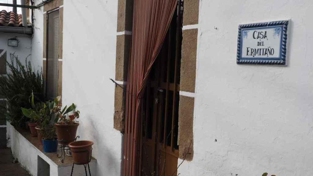 La casa de los padres del violador de Pirámides, donde vivieron durante años.