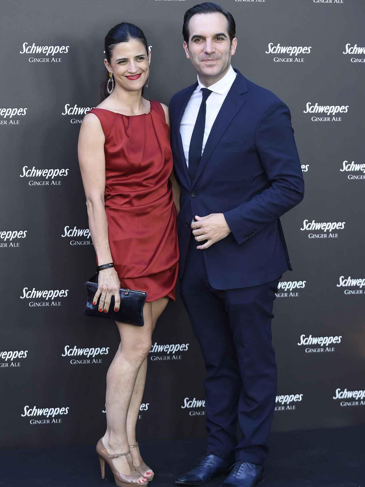 Mario Sandoval y su mujer Cristina Pérez