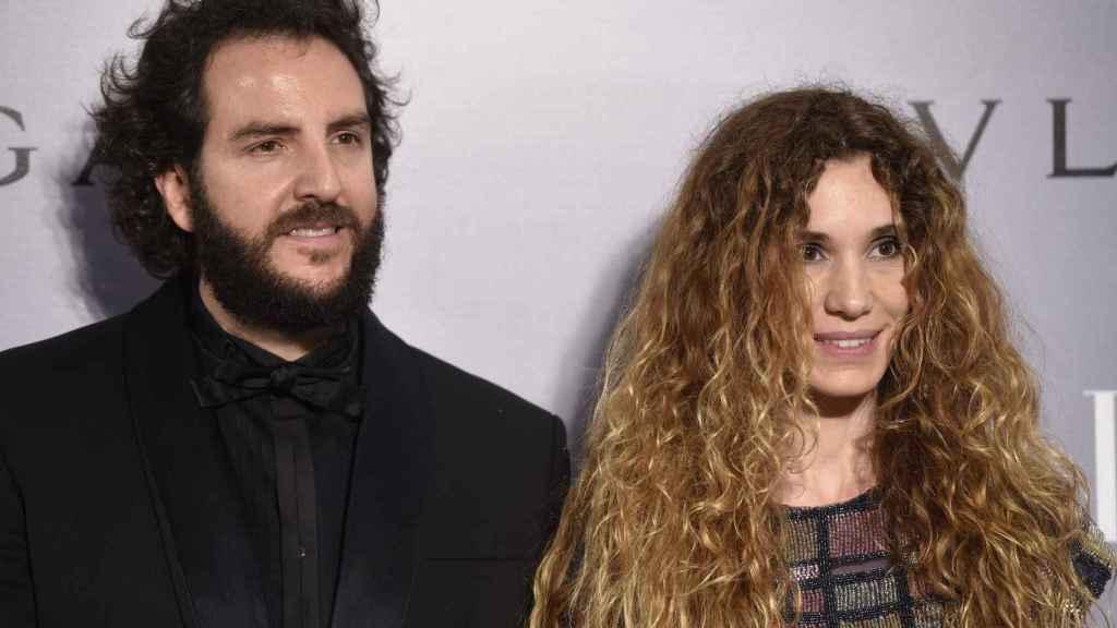 Borja Thyssen y Blanca Cuesta, en un photocall