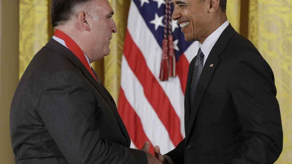 La relación entre Obama y José Andrés ha sido excepcional a lo largo de los ocho años del presidente.