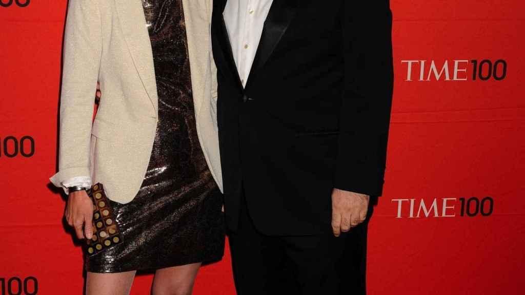 José Andrés con su mujer en una gala de la revista Time.