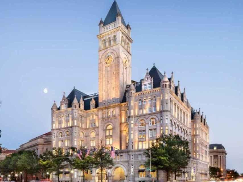 La nueva torre Trump en Washington en la que iba a estar incluido el nuevo restaurante de José Andrés.