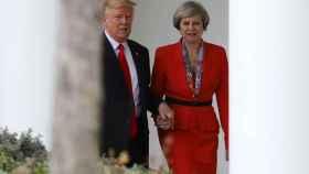 Trump y May, tras su encuentro en la Casa Blanca