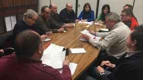 reunion-comite-aguas-valladolid-maria-sanchez-ayuntamiento