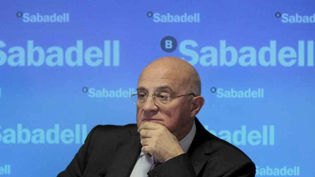 El presidente del Banco Sabadell, José Oliu.